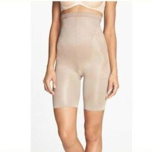 Spanx In Powerment High Waist Shaper Shorts Size E